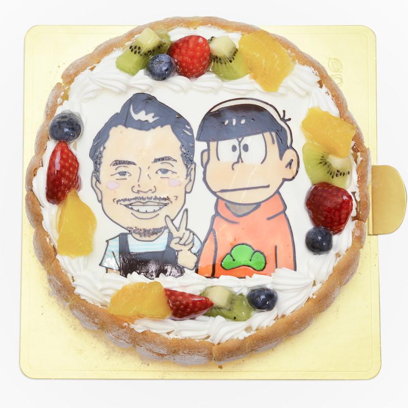 似顔絵ケーキ おそ松さん